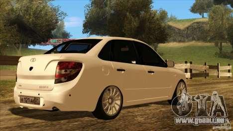 VAZ 2190 Grant für GTA San Andreas Räder