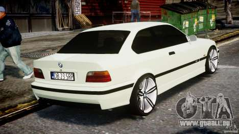 BMW e36 M3 für GTA 4 Seitenansicht