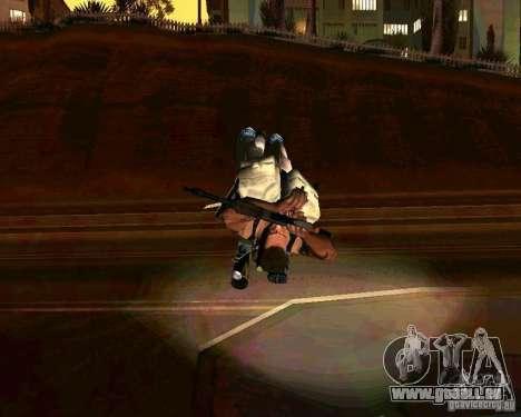 Rekrutierung Animationen von GTA IV für GTA San Andreas