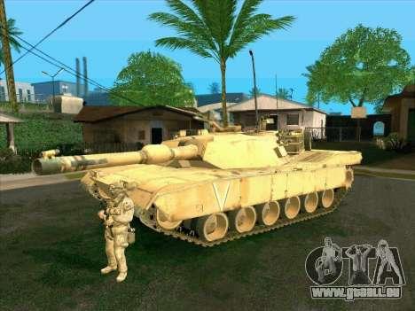 M1A2 Abrams de COD4: MW pour GTA San Andreas