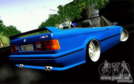 BMW E30 M3 Cabrio für GTA San Andreas linke Ansicht