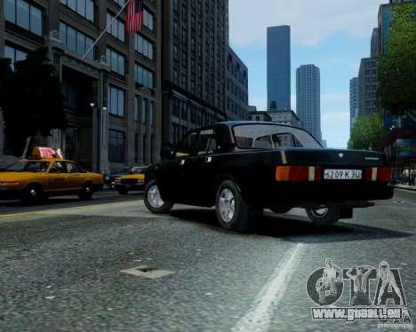 Gaz-31029 pour GTA 4 Vue arrière de la gauche