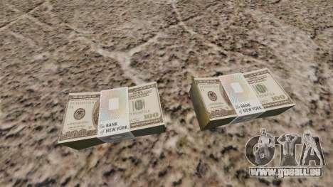 USA-Banknoten im Nennwert von $ 100 für GTA 4 Sekunden Bildschirm