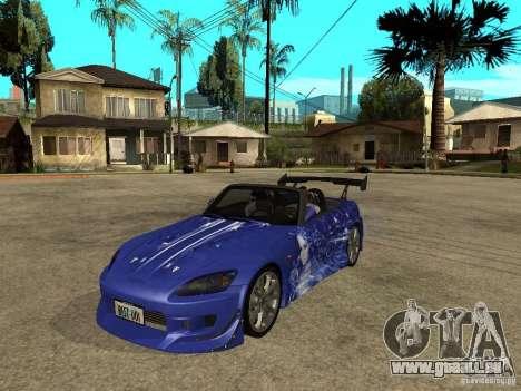 Honda S 2000 für GTA San Andreas