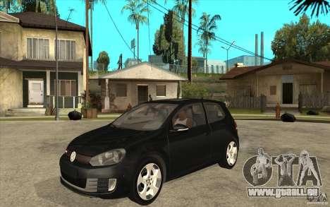 VW Golf 6 GTI für GTA San Andreas