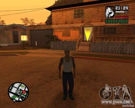 CJ Gopnik pour GTA San Andreas deuxième écran
