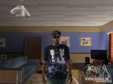 T-Shirt Hip Hop pour GTA San Andreas