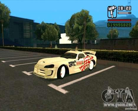 Dodge Viper SRT-10 Coupe für GTA San Andreas