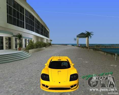 Saleen S7 pour une vue GTA Vice City de la gauche
