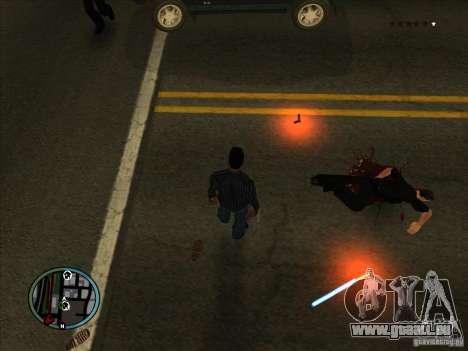 GTA IV LIGHTS pour GTA San Andreas troisième écran