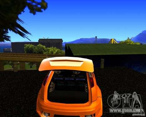 Ford Focus ST Racing Edition pour GTA San Andreas sur la vue arrière gauche