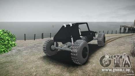 Buggy beta für GTA 4 hinten links Ansicht