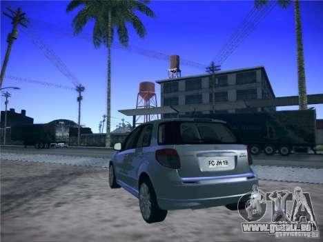 Suzuki SX4 2012 pour GTA San Andreas laissé vue