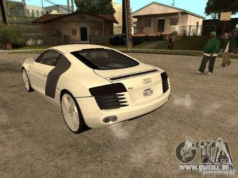 Audi R8 für GTA San Andreas linke Ansicht