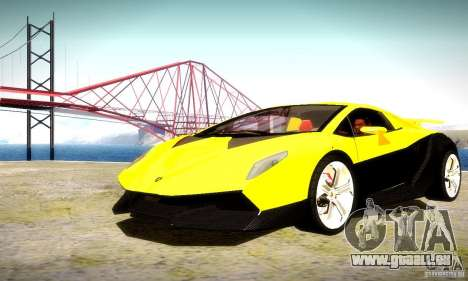 Lamborghini Sesto Elemento pour GTA San Andreas vue de dessous