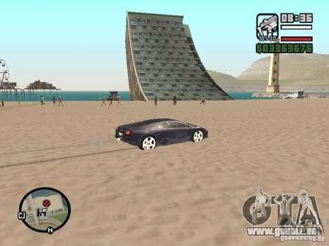 Voyage sur l'océan (version bêta) pour GTA San Andreas quatrième écran