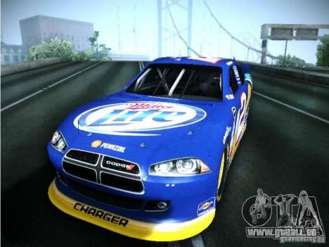 Dodge Charger Nascar 2012 pour GTA San Andreas