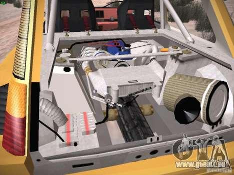 Renault 5 Turbo pour GTA San Andreas vue de dessus