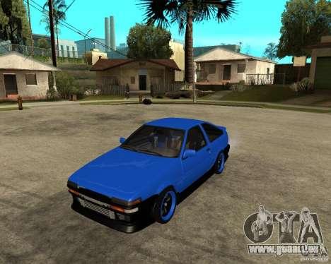 Toyota Corolla AE86 pour GTA San Andreas