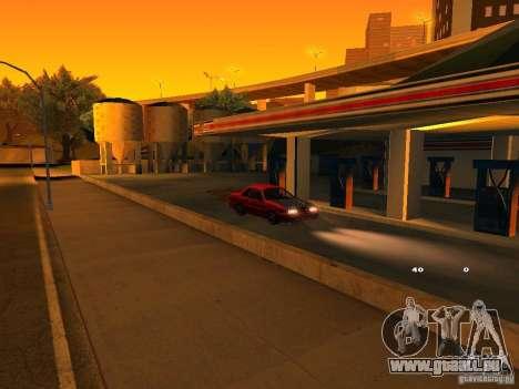 Previon GT pour GTA San Andreas vue de côté