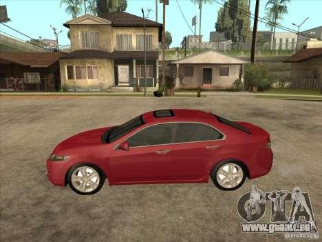 Honda Accord 2010 für GTA San Andreas linke Ansicht