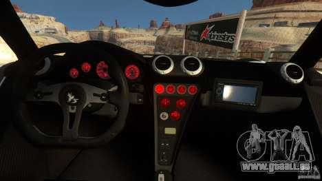 Gumpert Apollo Sport 2011 v2.0 pour GTA 4 Vue arrière de la gauche