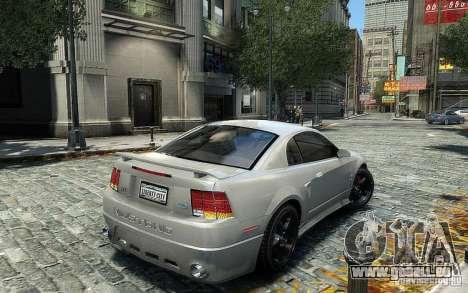 Ford Mustang Cobra R pour GTA 4 est un droit