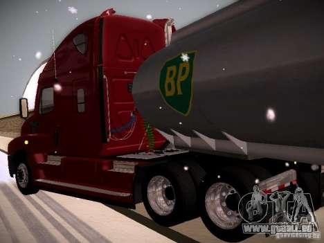 Freightliner Cascadia für GTA San Andreas Rückansicht