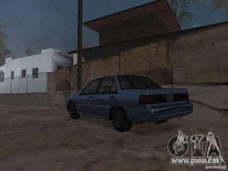 Mercury Tracer 1993 pour GTA San Andreas laissé vue