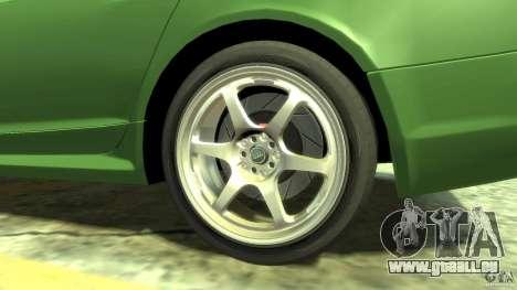 Audi RS6 Avant 2010 Stock für GTA 4 Rückansicht