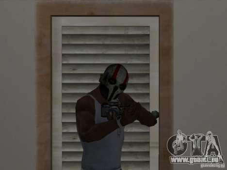 Army of Two Mask Skull für GTA San Andreas zweiten Screenshot