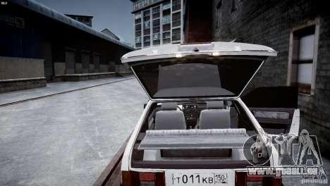 VAZ 21083i pour GTA 4 est un côté