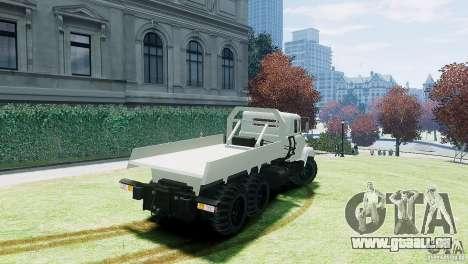 KrAZ-6322 pour GTA 4 est une gauche