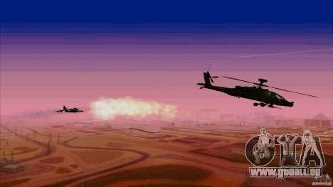 Piège à chaleur pour chasseur pour GTA San Andreas quatrième écran