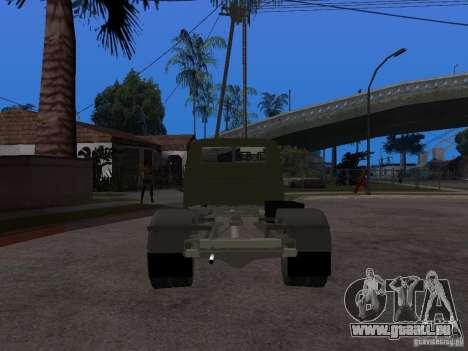 GAZ 3302 v 1.2 (Gazelle dépanneuse) pour GTA San Andreas sur la vue arrière gauche