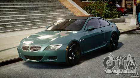 BMW M6 2010 v1.5 pour GTA 4 Vue arrière