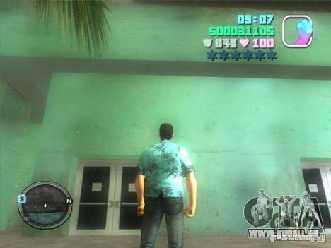 Hud and map pour GTA Vice City