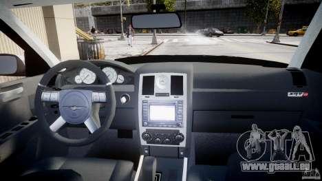 Chrysler 300C SRT8 pour GTA 4 vue de dessus