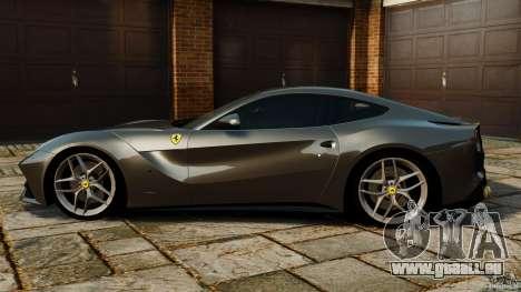 Ferrari F12 Berlinetta 2013 Stock für GTA 4 linke Ansicht