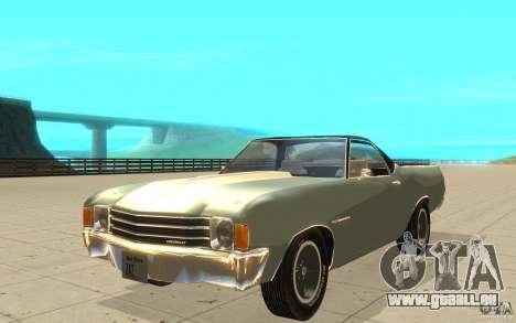 Chevrolet El Camino 1972 pour GTA San Andreas