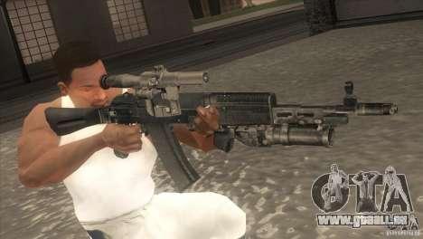 AK-47-v2 für GTA San Andreas fünften Screenshot