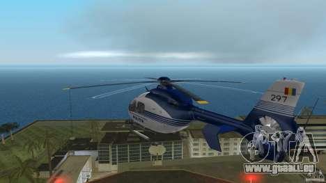 Eurocopter Ec-135 Politia Romana pour GTA Vice City vue arrière