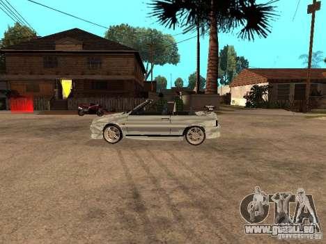 VAZ 2108 Convertible pour GTA San Andreas vue de droite