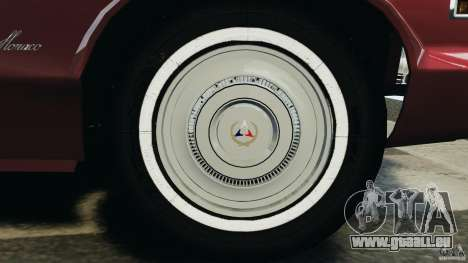 Dodge Monaco 1974 v1.0 pour GTA 4 Salon