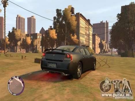 Dodge Charger SRT8 2007 FBI pour GTA 4 est un droit