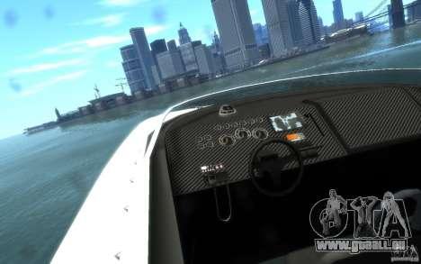 New Jetmax pour GTA 4 Vue arrière
