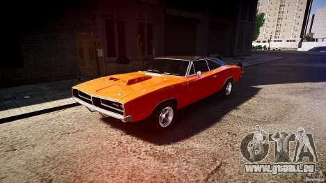 Dodge Charger RT 1969 sport de tun v1.1 pour GTA 4