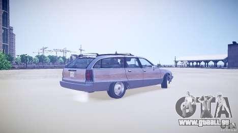 Chevrolet Caprice Civil 1992 v1.0 für GTA 4 hinten links Ansicht