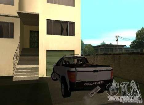 Peugeot Hoggar Escapade 2010 pour GTA San Andreas vue intérieure