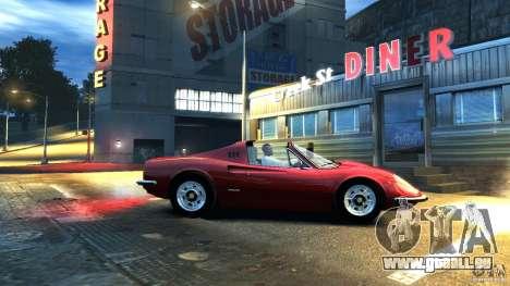 Ferrari Dino 246 GTS pour GTA 4 Vue arrière de la gauche